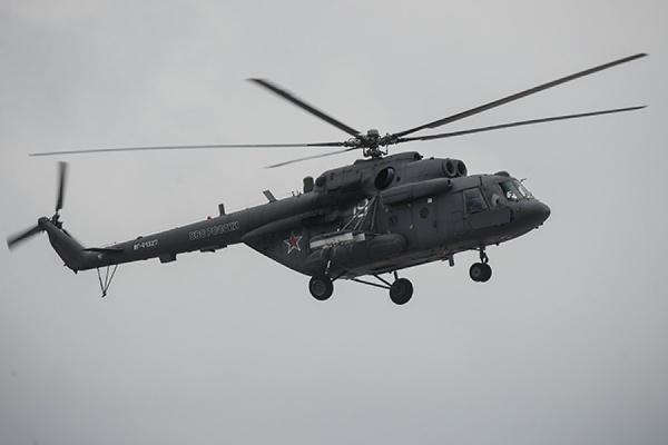 Вертолет Ми-8 МЧС разбился в Подмосковье