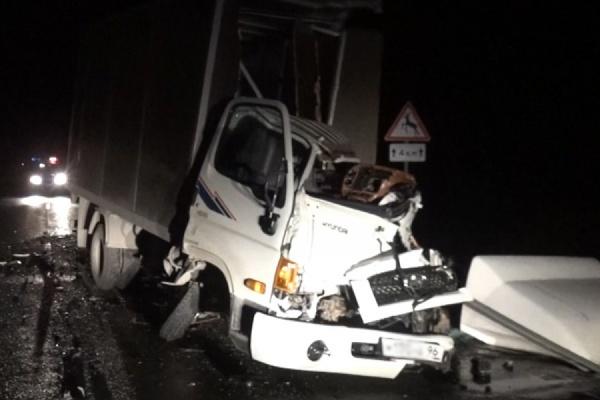 На Тюменском тракте погиб водитель грузовика — мужчина уснул за рулем и врезался в фуру