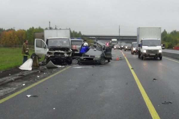Сегодня натрассе под Екатеринбургом погибла девушка-пассажир
