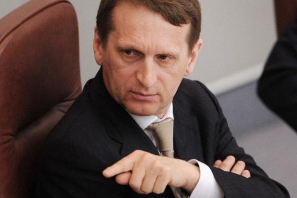 Сергей Нарышкин возглавит Службу внешней разведки в октябре