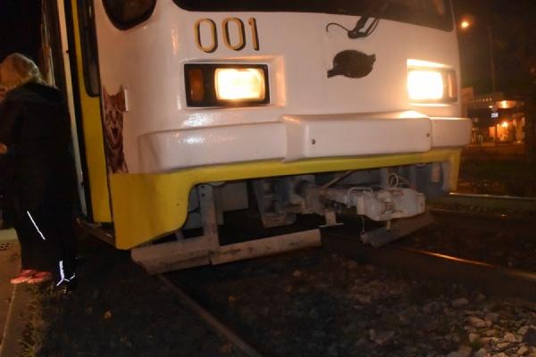 НаТехнической пенсионерка угодила под трамвай