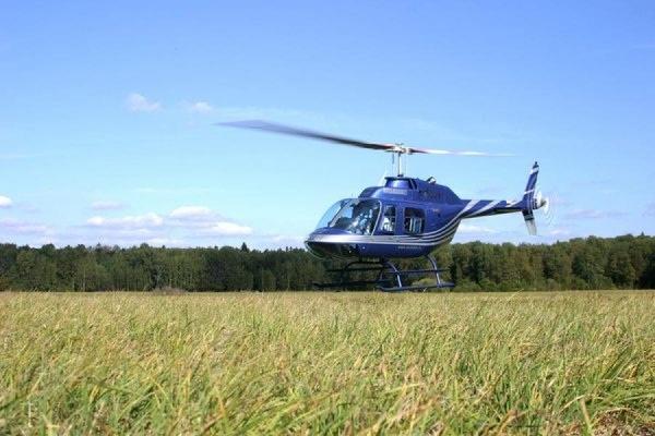 В Красноярском крае потерпел крушение частный вертолет