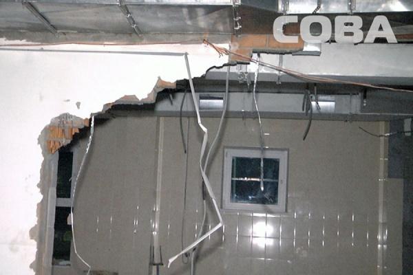 В Горном Щите при обрушении стены магазина погиб рабочий