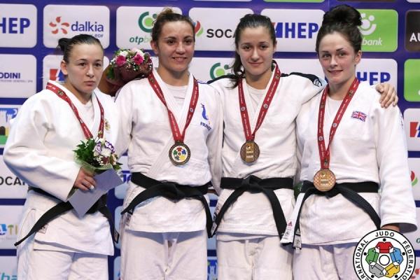 Екатеринбургская дзюдоистка везет из Хорватии «бронзу» турнира серии Гран-При