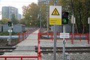 На Синих Камнях открыли долгожданный переход через железнодорожные пути