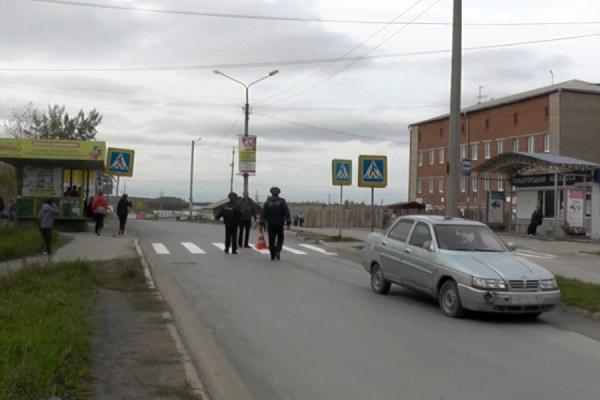 В Реже водитель сбил ребенка на пешеходном переходе