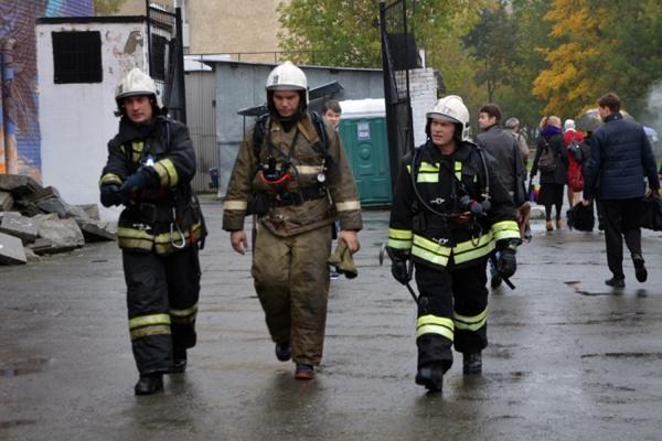 Пожар в ДК Лаврова ликвидирован