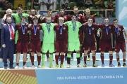 Сборная России по мини-футболу впервые в истории завоевала «серебро» чемпионата мира