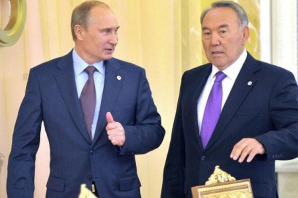 Владимир Путин прибыл вАстану напереговоры сНазарбаевым