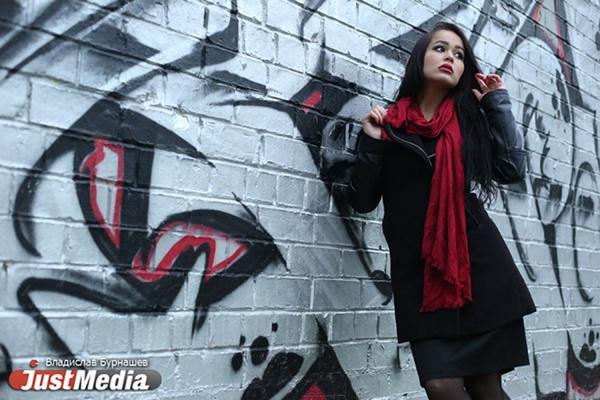 Фотомодель Юлия Фархутдинова: «Люблю солнечную, золотую осень, когда можно легко одеваться». В Екатеринбурге сегодня без дождей. ФОТО, ВИДЕО