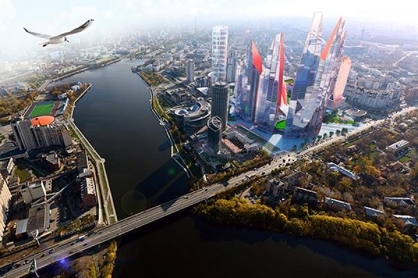 Вконкурсе налучшую концепцию Екатеринбург-Сити победил проект «Медная гора»