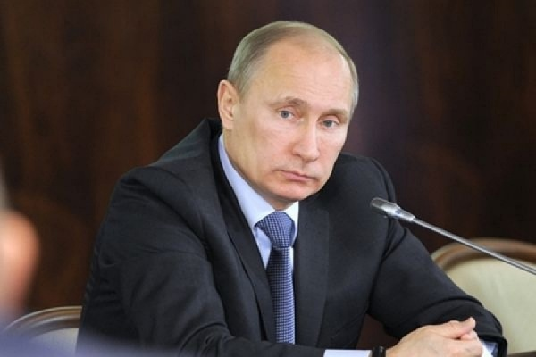Путин и Альберт II открыли выставку в Третьяковской галерее