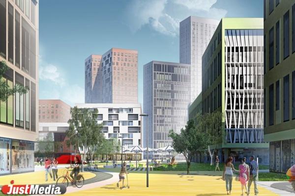 В Екатеринбурге вдоль улицы Верхнеуфалейская появится двухкилометровый жилой микрорайон. ФОТО