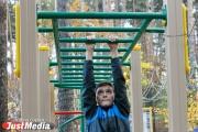 «Делаем спорт доступнее». Антон Шипулин и фонд «Общество Малышева 73» открыли современную площадку для воркаута в микрорайоне Лечебный