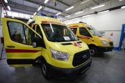 Центру медицины катастроф вручили реанимобиль для оказания экстренной помощи тяжело пострадавшим пациентам