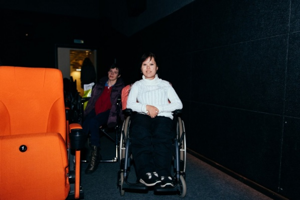 Вчера в Екатеринбурге состоялся благотворительный показ для инвалидов