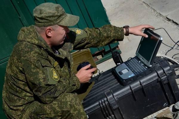 У русских военных появился собственный интернет