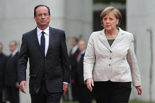 Путин, Меркель и Олланд обсудили ситуацию в Сирии