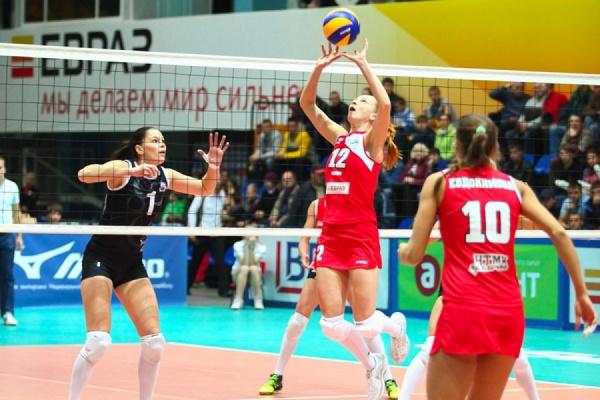 «Уралочка» одержала гостевую победу над «Сахалином»