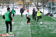 Мечты сбываются! В Екатеринбурге футболисту, страдающему ДЦП, построили площадку прямо около дома