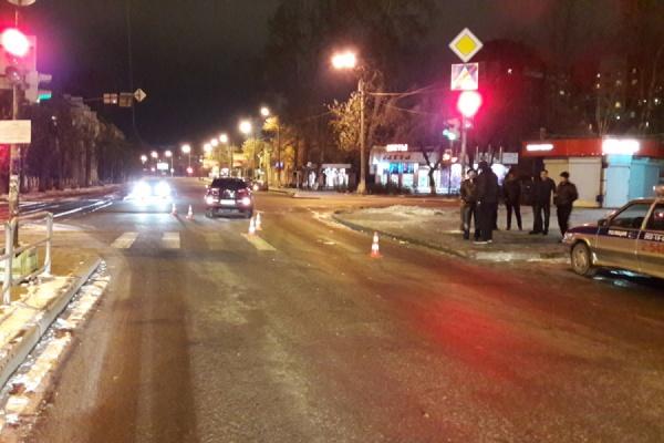 ГИБДД разыскивает очевидцев ДТП на Технической, в котором пострадали два пешехода