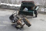 В Тугулыме нетрезвая автоледи столкнулась с мотоблоком под управлением водителя без прав