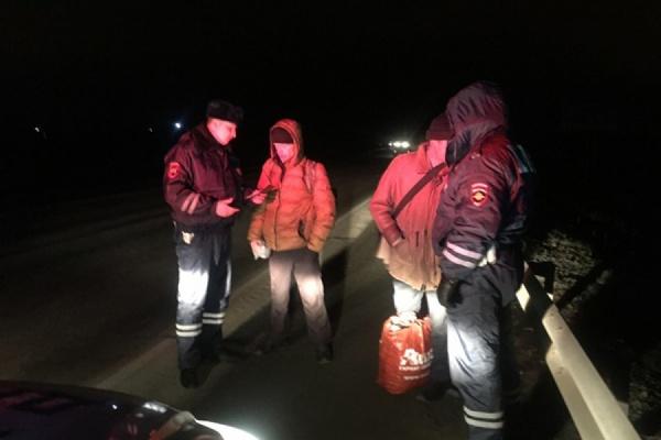 Свердловские автоинспекторы словили наночных трассах 18 нарушителей ПДД