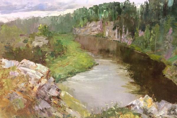 Художники со всей России рисовали Чусовую и ее окрестности