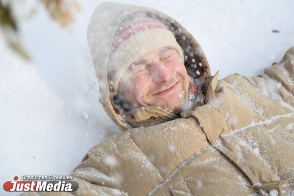 Андрей Сак, строитель: «Люблю кидаться снежками и кататься на лыжах». В Екатеринбурге сегодня еще немного похолодает