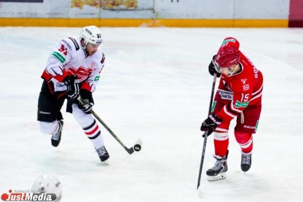 Опять «всухую». ХК «Автомобилист» проиграл московскому ЦСКА