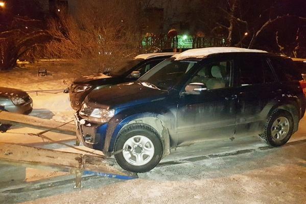 У екатеринбурженки изъяли кредитный Suzuki