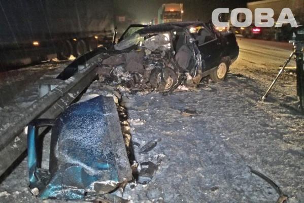 На ЕКАДе водитель Audi убил двух человек, выехав на встречку. ФОТО