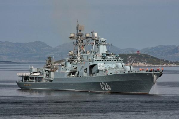 Русский корабль спас экипаж украинского судна вСредиземном море— МОРФ