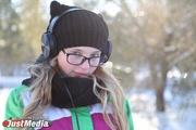 Ева Григорьева, школьница: «Хорошо сидеть дома и смотреть из окна на снегопад». В понедельник в Екатеринбурге минус 4 и снег