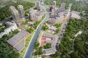 На набережной Исети построят высотный жилой квартал с двумя пешеходными мостами и отдельным входом в ЦПКиО