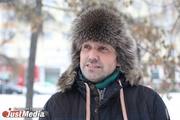 Владимир Чеберяк, оперный певец: «Зиму я люблю, потому что много снега». В понедельник в Екатеринбурге -17. ФОТО и ВИДЕО