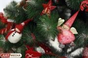 От елок до расписных валенок: в «Гринвиче» открылась «Новогодняя ярмарка»