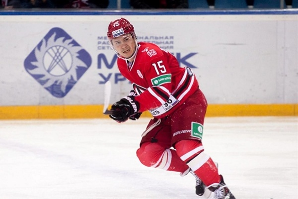Нападающий «Автомобилиста» Анатолий Голышев примет участие в«Матче звёзд» КХЛ
