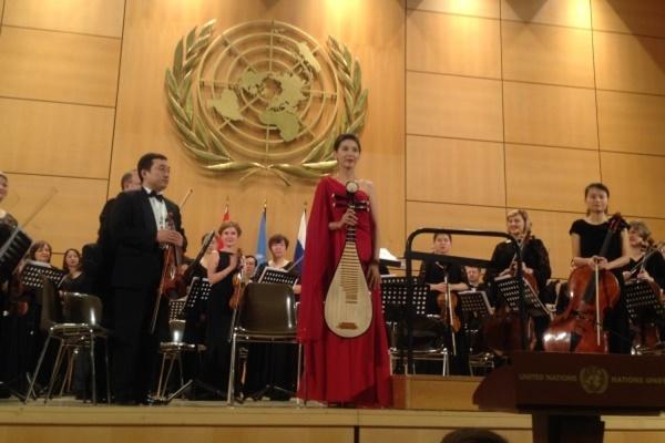 Концерт мирового масштаба. Музыканты Свердловской филармонии сыграли вместе с Харбинским симфоническим оркестром в штаб-квартире ООН