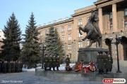 Девяносточетырехлетний ветеран Великой Отечественной войны презентует молодежи фильм о Георгии Жукове