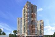 В Екатеринбурге на Предельной начали строить 25-этажный ЖК с мини-детсадом и фитнес-центром. ФОТО