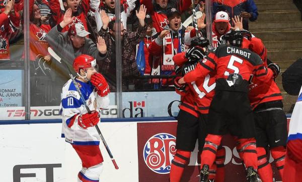 ИгрокиХК «Рязань» всоставе русской молодёжки проиграли стартовый матч чемпионата мира
