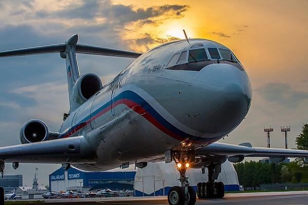 Найден фрагмент Ту-154 неменее 60 метров вдлину