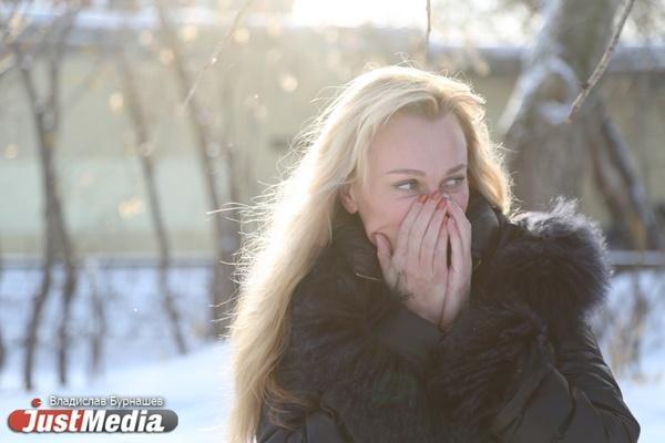 В Екатеринбурге – предновогодня оттепель! Ведущая Инна Боева: «Как только выпадает первый снег, я начинаю ждать лета». ФОТО, ВИДЕО