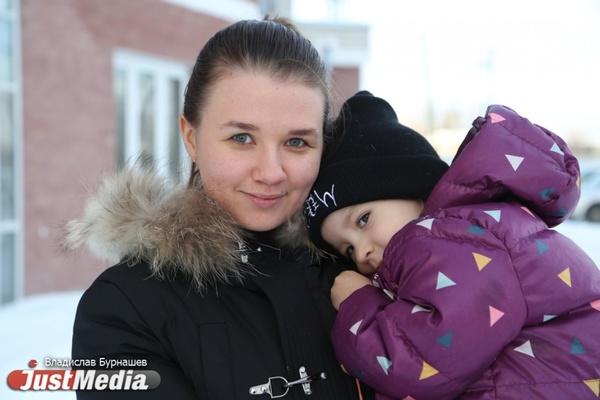 В Екатеринбурге тепло и комфортно! Молодая мама Анастасия Волкова: «Главное тепло одеться и взять санки». ФОТО, ВИДЕО