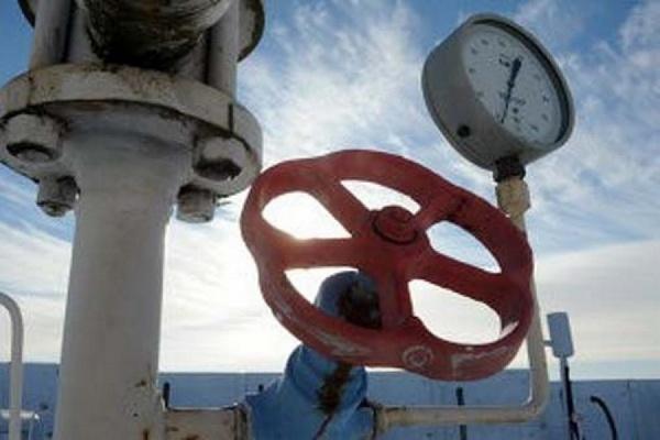 Запасы газа вУкраинском государстве уменьшились практически начетверть