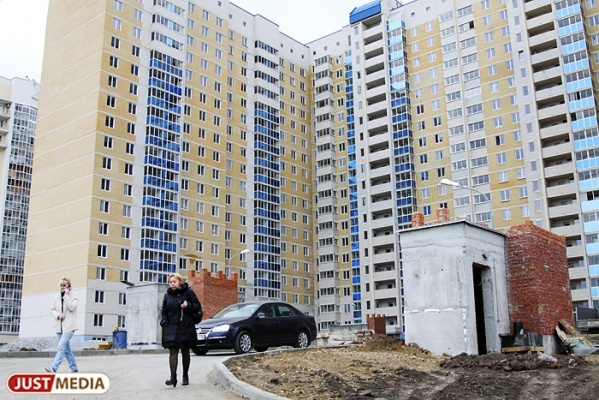 В Екатеринбурге в 2016 году введи 1,3 миллиона квадратных метров жилья