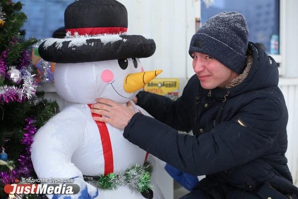 Евгений Аренский: «Зима это прикольно, потому что нет бесячих насекомых!». В Екатеринбурге сохраняется теплая погода. ФОТО, ВИДЕО