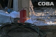 СК возбудил уголовное дело по взрыву газового баллона на стройплощадке гипермаркета «Лента»