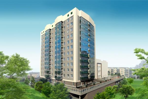 На Химмаше стоят 12-этажный клубный дом с отдельным входом в бассейн «Кристалл»